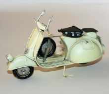 Tin Model - Cream SCOOTER